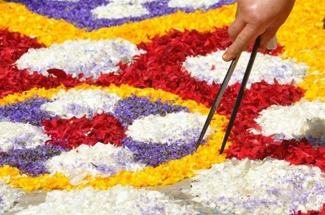 Three of Italy's Best Infiorata Festivals. The Tradition of Making Carpets of Flowers | Marketing & Publicity | Scoop.it