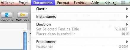 Scrivener dans le monde francophone peu de choses | Scrivener, lecture et écriture numérique | Scoop.it