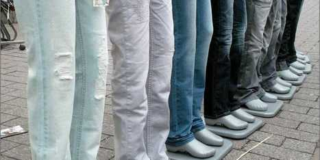 GIFs Show How Raw Cotton Is Transformed Into Blue Jeans | Read it | Scoop.it