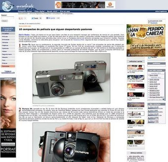 The best analog compact cameras in the history of photography ...   black and white film photo   Scoop.it