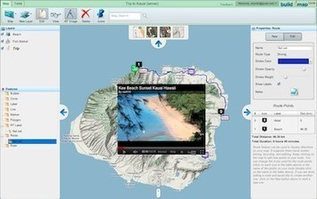 Build a map, embed a map into your website | Build-A-Map | Web 2.0 for Education | Scoop.it