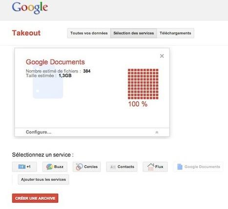Google Documents: exportez vos documents en utilisant Takeout | Time to Learn | Scoop.it