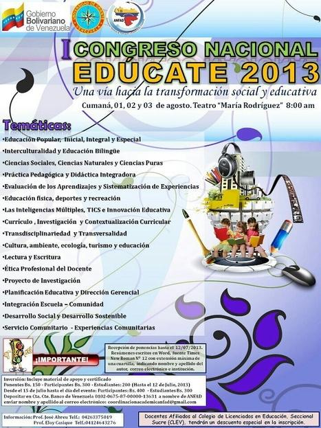 EDUCATE 2013 | Impacto TIC en Educación | Scoop.it