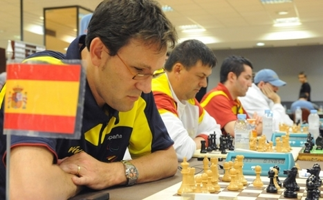 Ocho ajedrecistas ciegos compiten contra videntes en el IV Open Internacional de Ajedrez de Albacete | Salud Visual 2.0 | Scoop.it