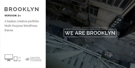Brooklyn WordPress Theme | MyThemeCafe | Website Premium Theme Directory | Scoop.it
