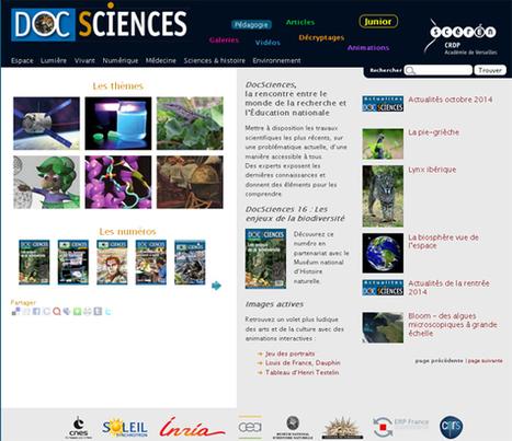 DocSciences – des travaux scientifiques récents... | | Technochauvinoise | Scoop.it