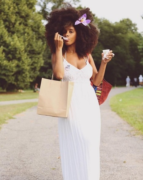 beauty hair: 26 Photos of the Epic Natural Hair at Brooklyn's CurlFest | Black Fashion Designers | Scoop.it