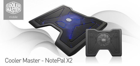 Review About Cooler Master NotePal X2 Cooling Pad | Best Laptop Cooling Pad Reviews | Cooling Pad For Gaming | Scoop.it