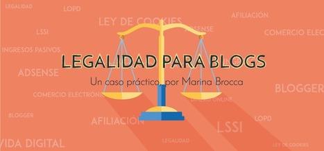 Legalidad para blogs: LSSI y LOPD | B30 | El Mundo del Diseño Gráfico | Scoop.it