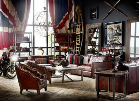 20 Creative and Inspiring Eclectic-Vintage Room Designs by Timothy Oulton | Design | News, E-learning, Architecture of the future at news.arcilook.com | Architecture news | Scoop.it