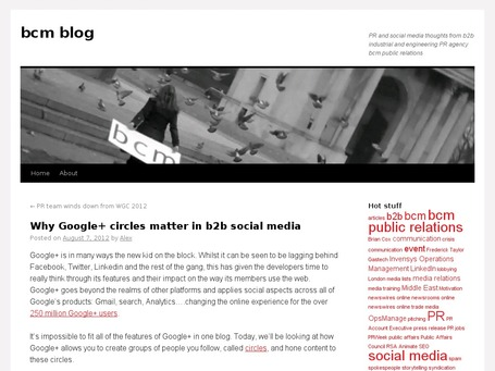 Why Google+ circles matter in b2b social media | The Google+ Project | Scoop.it