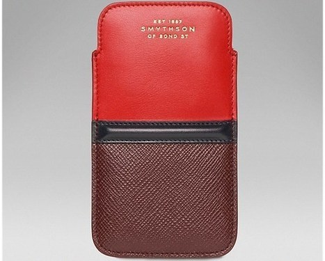 iPhone 5S and iPhone 5 Luxury Cases From Smythson | Things to know | Scoop.it