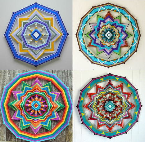Jay Mohler Updates the Traditional #Craft of Homespun to Create Elaborate Masterpieces up to 48 Inches Wide #art #pattern #colour | Luby Art | Scoop.it