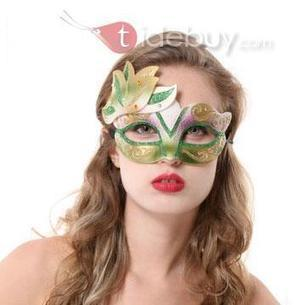 Halloween Party Masquerade Large Foliage Plants Venetian Mask   FASHION-BEAUTY-CLOTHES-GIRL   Scoop.it