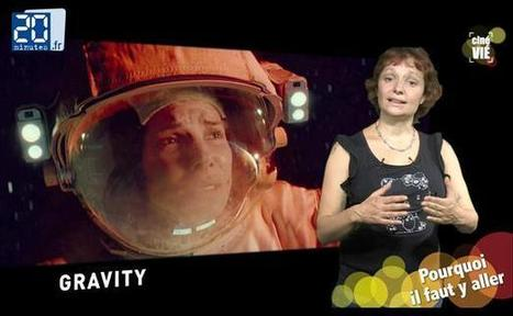 VIDEO. «Gravity»: Des images hyperréalistes pour un futur film culte | Fiction & Cinema | Scoop.it