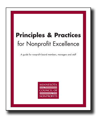 Principles and Practices for Nonprofit Excellence   Minnesota Council of Nonprofits   Nonprofit jobs   Scoop.it