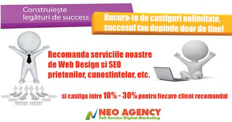 Recomanda serviciile noastre si castiga intre 10% - 30%   Web Design, SEO, Marketing   Scoop.it