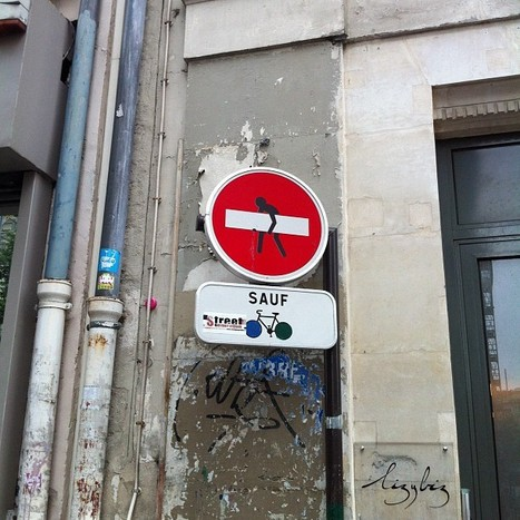 Street Art @ Paris   La veille de generation en action sur la communication et le web 2.0   Scoop.it
