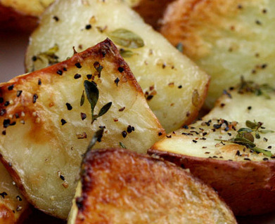 Extra virgin olive oil (Recipe: thyme roasted new potatoes) {vegan, gluten-free} - The Perfect Pantry® | olive oil | Scoop.it