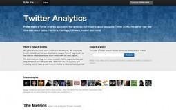 Foller.me sur Twitter, ou comment se faire une idée d'un compte Twitter en un temps record | veiller | Scoop.it