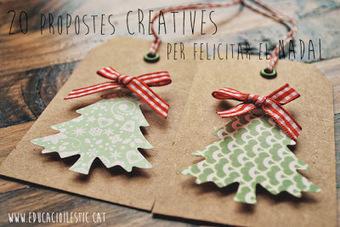 20 propostes creatives per felicitar el Nadal | Posts d'Educació i les TIC | Scoop.it