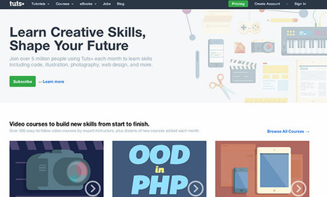 20 #WebDesign Learning Resources You Should Know | Tecnología Web & Móvil | Scoop.it