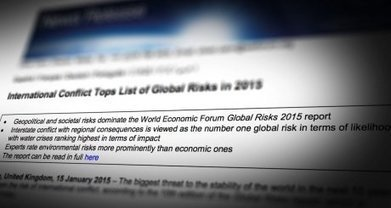 The Global Risks 2015 Report | Miscellaneous news items | Scoop.it