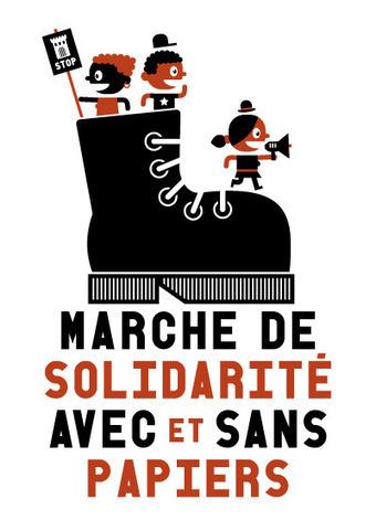 """mercredi 17 avril 2013 - 1000 Bxl - Projection """"Vol Special"""" dans le cadre de la Marche de Solidarité Avec ET Sans papiers   Occupy Belgium   Scoop.it"""