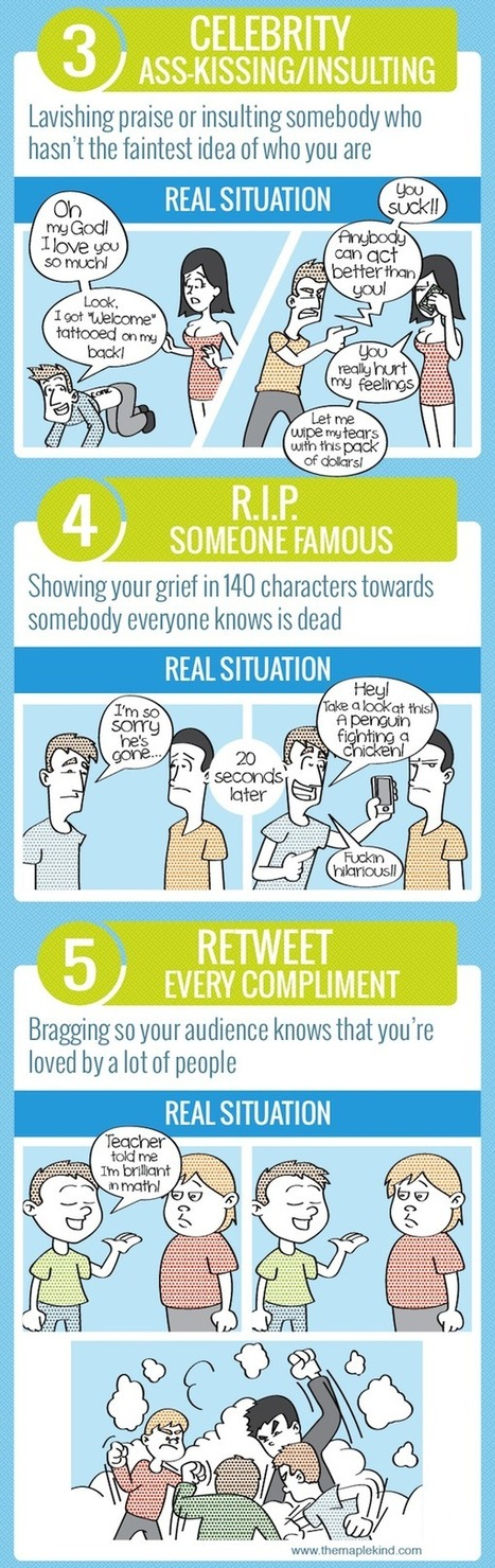 10 Mistakes That You Might Be Making On Twitter [INFOGRAPHIC] - AllTwitter | Social Media Director | Scoop.it