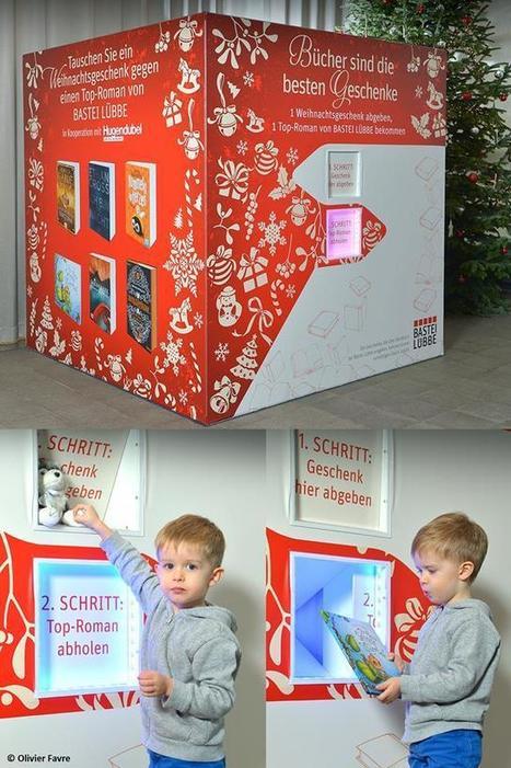 La machine qui échange les cadeaux de Noël pourris contre les livres géniaux | Bibliothèque et Techno | Scoop.it