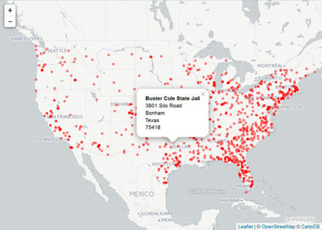A Simple Interactive Map Of US Prisons With Leaflet | R for Journalists | Scoop.it