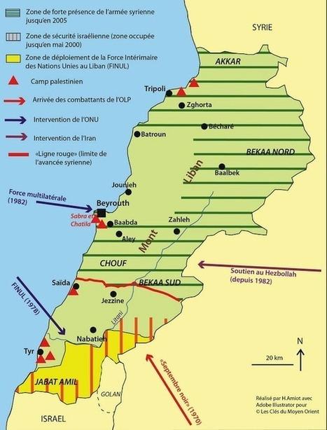 La guerre du Liban (1975-1990) : entre fragmentation interne et interventions extérieures - Les clés du Moyen-Orient | ECS Géopolitique de l'Afrique et du Moyen-Orient | Scoop.it