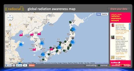 radiocial - the first radiation awareness social network | Mapping & participating: Fukushima radiation maps | Scoop.it