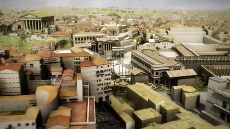 Arpentez la Rome antique telle qu'elle était en l'an 320 à travers cette reconstitution impressionnante | Des ressources numériques pour enseigner | Scoop.it