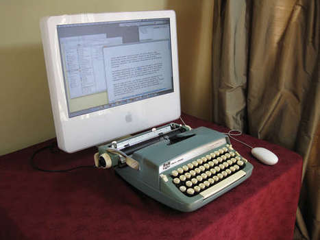 Make Your Own USB Typewriter For Fun And Profit | All Geeks | Scoop.it