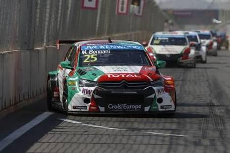 WTCC : Medhi Bennani (Citroën) finit en trombe à Losail   Automobile technologie   Scoop.it