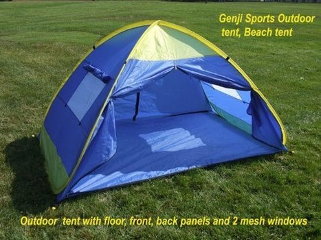 Genji Sports Pop Up Outdoor Family Tent Review | BestPopUpTentsGuide | Best Pop Up Tents Guide | Scoop.it