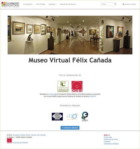 Nuevo Museo Virtual Félix Cañada con imágenes en 3D y en alta definición ya es una realidad - SEDIC - Blog   ARTE, ARTISTAS E INNOVACIÓN TECNOLÓGICA   Scoop.it