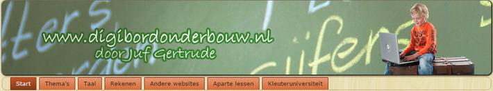 Edu-Curator: Digibordonderbouw: prachtige site met digibordlessen voor kleuters | Educatief Internet - Gespot op 't Web | Scoop.it