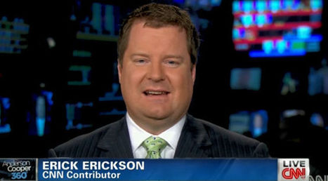 Erick Erickson Continues His Impotent, Childish Flailing for Your Entertainment | Daily Crew | Scoop.it