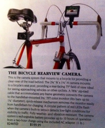 Bicycle Rear View Camera | Bicycle Safety and Accident Claims in CA | Scoop.it