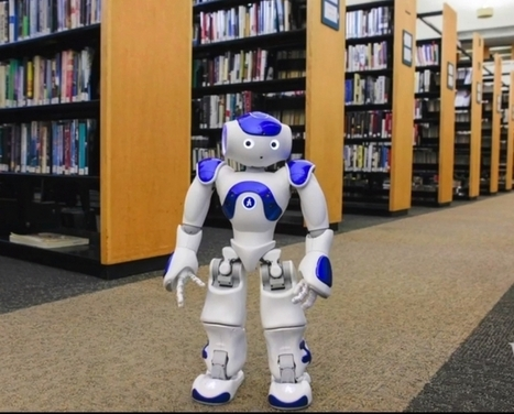 Des robots humanoïdes en bibliothèque | O.B.N.I | Scoop.it