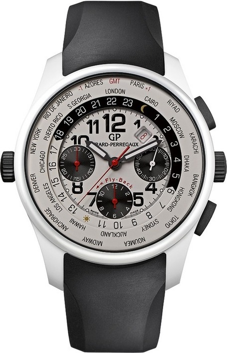 Girard-Perregaux ww.tc Chronographe White Ceramic | Montre, Horlogerie,Chronos | Scoop.it