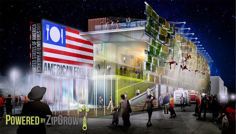 U.S. Pavilion Powered By ZipGrow - World's Fair 2015 | Vertical Farm - Food Factory | Scoop.it