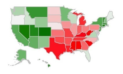 Why is Colorado so skinny? (And other questions about each state): An interactive map | Maps are Arguments | Scoop.it