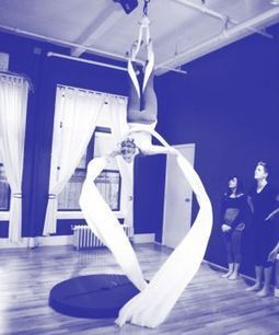 We Tried It: The Aerial Ribbon Workout - Refinery29 | Health and Fitness Article | Scoop.it