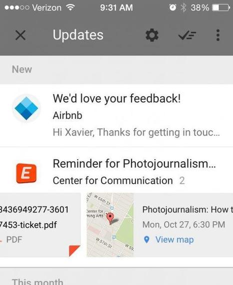 Google Inbox Review: Google's Latest iOS, Android & Web App Is Gmail's ... - iDigitalTimes.com | Web Apps | Scoop.it