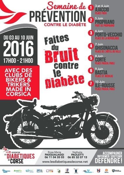 Semaine Nationale de Prévention du Diabète | 2016 | Diabétiques de Corse | ADC | Scoop.it