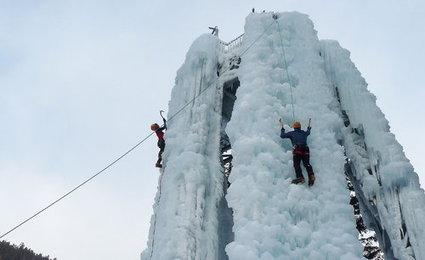 Le Boréon inaugure sa cascade de glace   Nice-Matin   ski de randonnée-alpinisme-escalade   Scoop.it