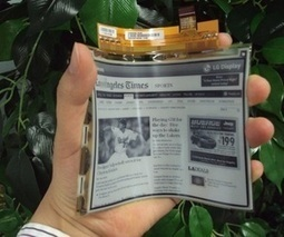 LG begins mass production of flexible e-paper display | Papel y Cartón | Scoop.it